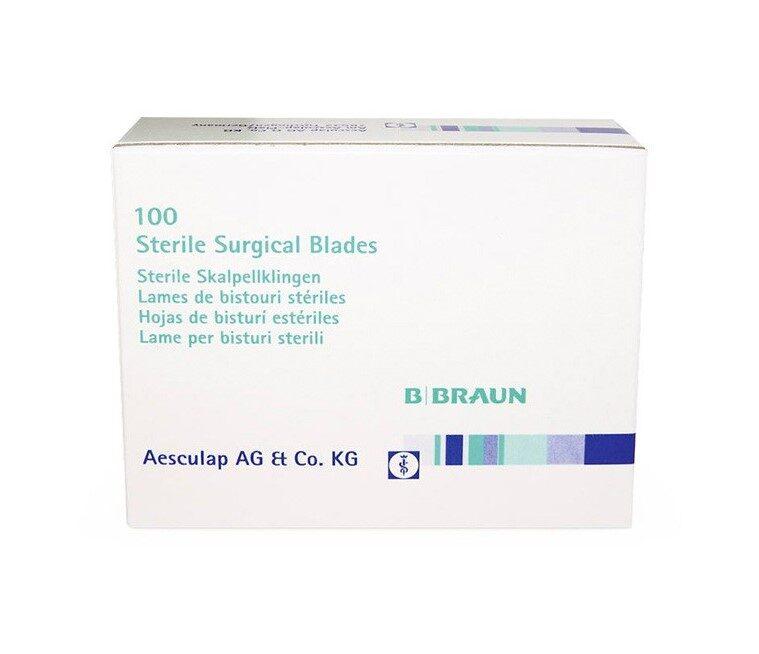 Skalpeļa asmeņi Nr.10, sterili