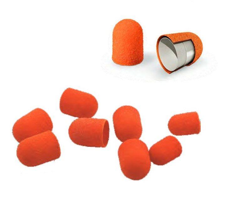 Smilšpapīra abrazīvi 10mm, oranži