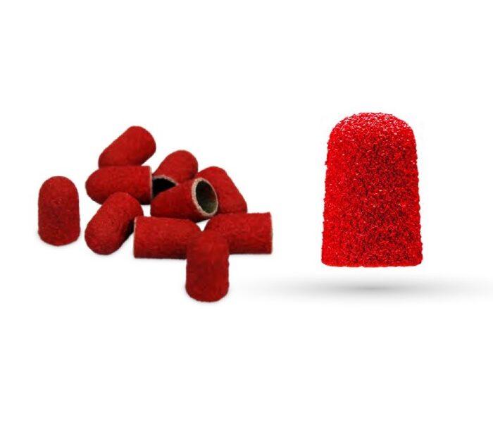 Keramikas/smilšpapīra abrazīvi 7,5mm, sarkani